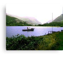 The Lake - Llanberris Canvas Print