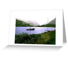 The Lake - Llanberris Greeting Card