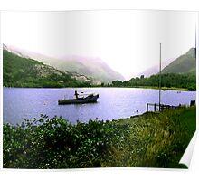 The Lake - Llanberris Poster