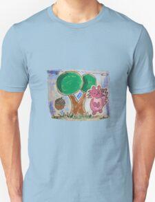 Squirrel & Tree Unisex T-Shirt