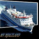 MV Hjaltland by Terry Mooney