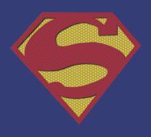 Superman Tile Logo by Ariana Garcia
