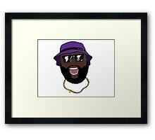 Rick Ross Rozay Framed Print