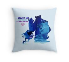 Monsters Inc Throw Pillow