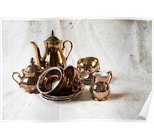 Antique Tea ||| Poster