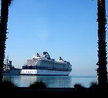 Celebrity Millennium at Port Melbourne by Keith Richardson