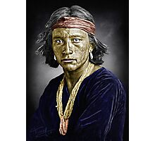 Navajo boy Photographic Print