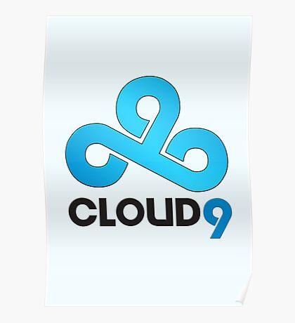 Cloud 9 - Sleek Gloss Poster