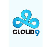 Cloud 9 - Sleek Gloss Photographic Print