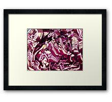 Red Cabbage.................................Plus Recipe Framed Print