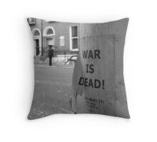 War is Dead! #2 Throw Pillow