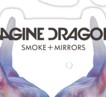 Smoke + Mirrors (Super Deluxe) - Imagine Dragons Sticker
