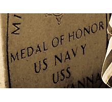 Medal Of Honor Photographic Print