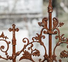 Cemetery Gate by AhArtography