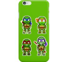 Teenage Mutant Ninja Turtles 2012 Mini Pixels iPhone Case/Skin