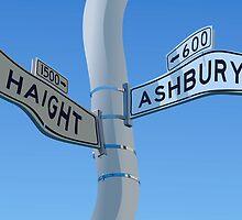Haight Ashbury Warp by William Fehr