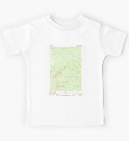 Maine USGS Historical Map New Vineyard 102808 1989 24000 Kids Tee