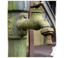 Old water pump Poster