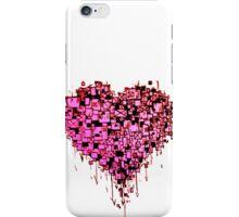 Graffiti Heart Red iPhone Case/Skin
