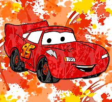Lightning McQueen by Lindsey Reese