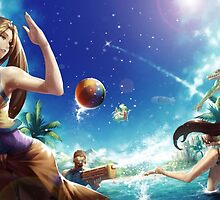 League of Legends - Pool Party by ghoststorm