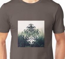 swans and forest - papercut patterns Unisex T-Shirt