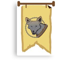 BANNER CREST SIGIL Chain of dogs  Canvas Print
