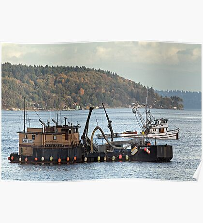Fish Buyer & Purse Seiner Poster