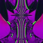 Cross of Purple by Marie Terry