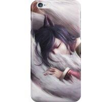 League of Legends - Ahri sleeping iPhone Case/Skin