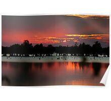 Bussey Brake Sunset Poster