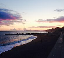 West Bay Beach Sunset Photography by Molly Lyons