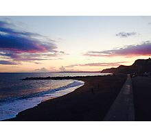 West Bay Beach Sunset Photography Photographic Print