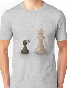 Pawn takes Queen Unisex T-Shirt