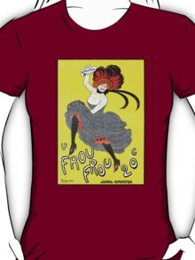 'Frou Frou' by Cappiello (Reproduction) T-Shirt