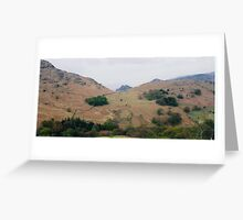 Lakeland hills Greeting Card