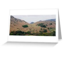 Lakeland hills Greeting Card
