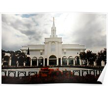 Bountiful LDS Temple Poster