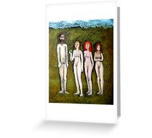 Spare Ribs Greeting Card