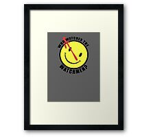 You have to protect yourself Framed Print