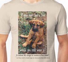 Dog Coat Unisex T-Shirt