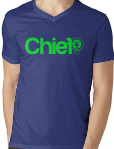 Project Chief  |  Green Mens V-Neck T-Shirt