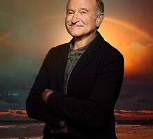 Robin Williams ~ Paradise by Daniel Lucas