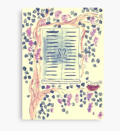 Wonderful Wisteria Canvas Print
