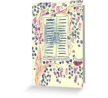 Wonderful Wisteria Greeting Card