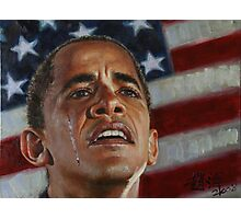Barack Obama - Change for America, for the World, for All of Us - The Audacity of Hope Photographic Print
