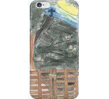 Moonlit Graveyard iPhone Case/Skin