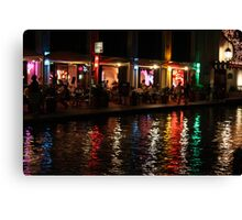 Color of the night Canvas Print
