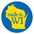 Made in WI - Blue Circle by aaronarthur