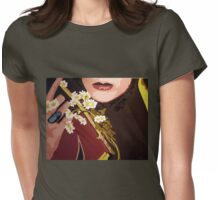 Handful of Daisies Womens Fitted T-Shirt